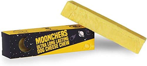 Moonchers - Natürlich hergestellte, lang haltbare Käseknochen für Hunde | Gesunde, fettarme Kausnacks|...