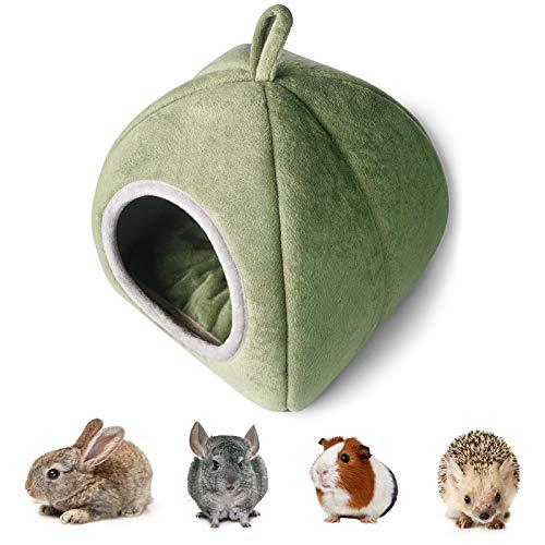 YUNXANIW Meerschweinchen Haus, Kaninchen Zubehoer, Kleintier Haus für Meerschweinchen, Hamster,...