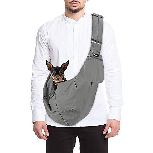SlowTon Tragetuch Hund, Katze Haustier Hand Schleuderträger Schultertasche Verstellbare Gepolsterte...