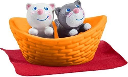 HABA 303891 - Little Friends – Katzenbabys   Süße Haustiere für die Little Friends-Biegepuppen   Mit...