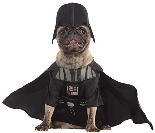 Rubie 's Offizielles Hunde-Kostüm, Darth Vader, Star Wars–Größe X-Large