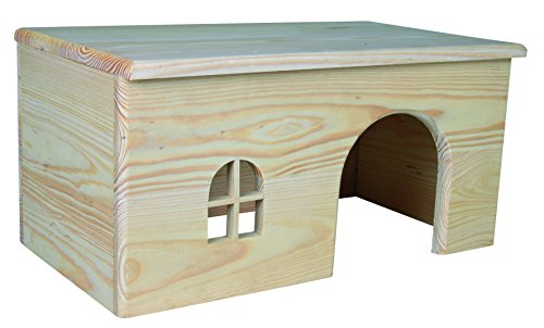 Trixie 61263 Holzhaus, Kaninchen, 40 × 20 × 23 cm