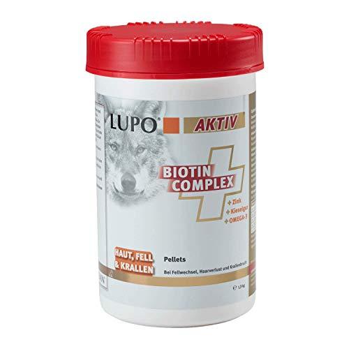 Luposan Aktiv BIOTIN Complex - PELLETS (1300g (mindestens 1 Jahr haltbar))