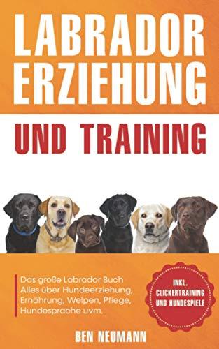 Labrador Erziehung und Training: Das große Labrador Buch - Alles über Hundeerziehung, Ernährung,...