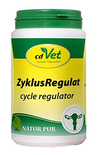 cdVet Naturprodukte ZyklusRegulat 120 g - Hund - Ergänzungsfuttermittel - Unterstützung hormoneller...