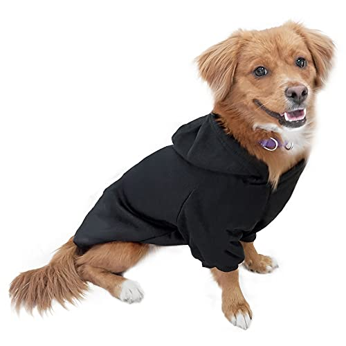 DULEE Hund Warme Hoodies Mantel Jumpsuit Haustier Kleidung Jacke Pullover Baumwolle Pullover Outwear...