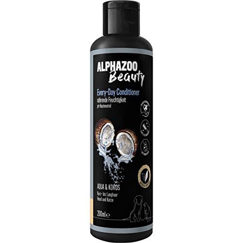 alphazoo Every Day Conditioner Spülung Kokos Hund & Katze 200 ml, Langhaar & Kurzhaar Fellpflege und...