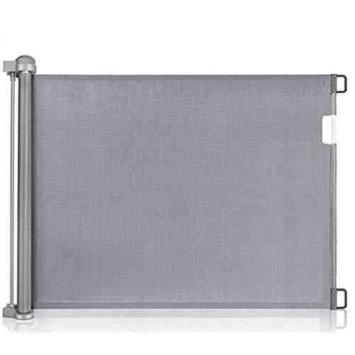 Treppenschutzgitter Ausziehbare für Babys &Haustiere, Einziehbares Türschutzgitter Treppenschutzgitter...
