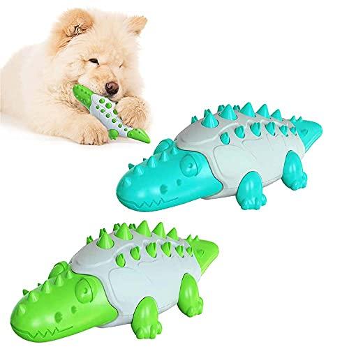 Pet Kauspielzeug Krokodil, Unzerstörbar Quietschend Hund Kauspielzeug, Rasse Aggressive Kauer Krokodil,...