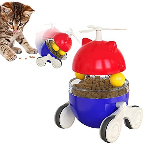 Runstarshow Spielzeug Katzen Tumbler Interaktives Spielzeug Intelligenzspielzeug Futterspielzeug für...