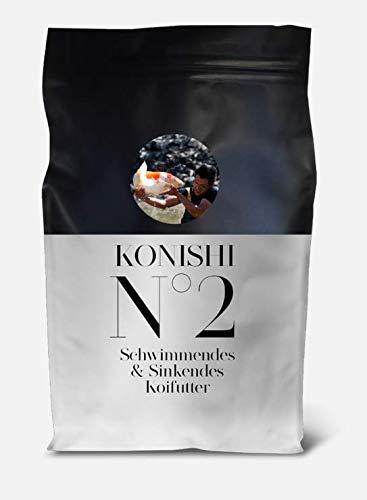 KONISHI Nr 2 Mix Neu Koifutter Fischfutter (2 x 5 kg)