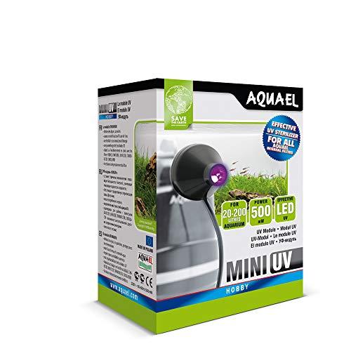 Aquael Mini UV-Beleuchtung, LED, für Aquaristik, 1W