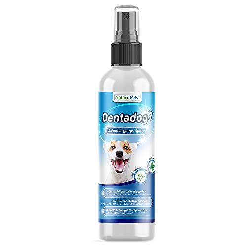 NaturaPets Dentadog® Zahnpflege-Spray für Hunde Dentalspray für Hunde zur Zahnreinigung und Zahnpflege...