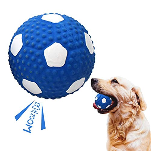 Toulifly Hundeball Unzerstörbar,Hundespielzeug Quitschend,Hundespielzeug Ball,Hundeball,Hundebälle...