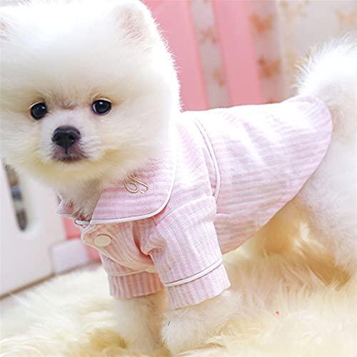 XHZDWJ Hundemantel zur Linderung von Angstzuständen, leicht, weich, für ängstliche Haustiere (Rosa),...