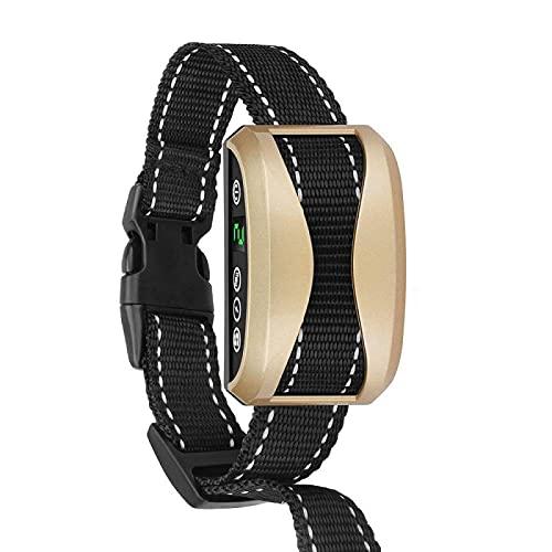 Verbessertes Antibell Halsband mit 7 Sensitivity Wiederaufladbares Erziehungshalsband...