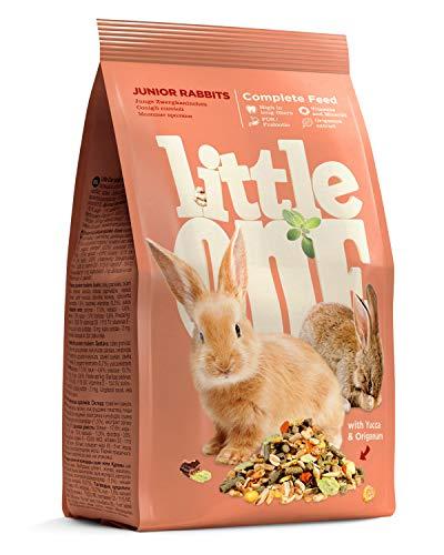 Little One Alleinfutter für Junge Zwergkaninchen im Beutel, 5er Pack (5 x 400 g)
