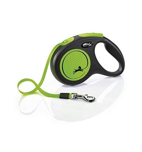 FLEXI New NEON neon-grün Gurt 5 m