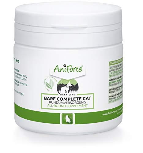 AniForte Barf Complete Katze 100g - Natürliche Rundumversorgung mit Omega 3, Bierhefe, Taurin,...