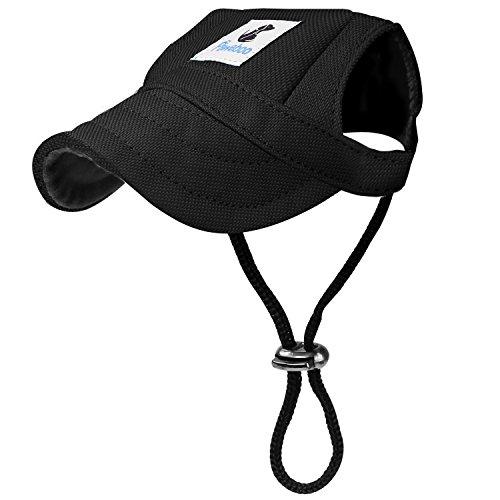 Pawaboo Hunde Baseballmütze, Basecap Verstellbar Sonnenschutz Hut Hundecap mit Ohrlöchern für Welpen...