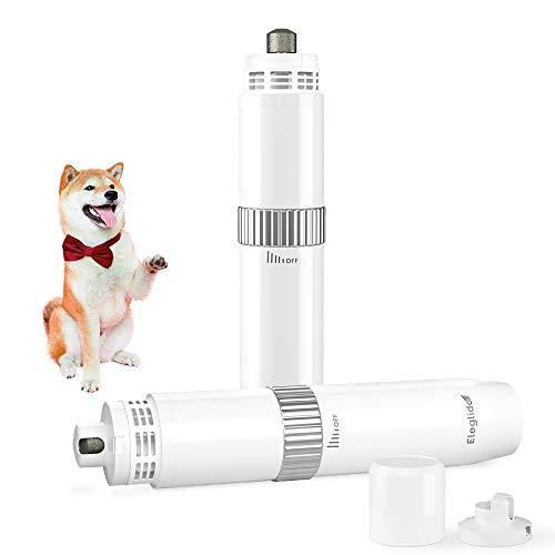 Krallenschleifer, Elektrische Nagelfeile für Hunde und Katzen, Wundfreier Nagelschnitt, Spetless...