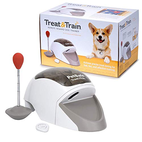 PetSafe Treat & Train Belohnungs Leckerli Hundetraining, Hundetrainer, Ferntrainer für Hunde, 30 Meter...