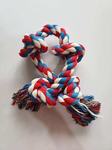 GHEART Hundeseil Spielzeug, Hundespielzeug Seil Hund Tau Spieltau mit Knoten für Hunde, Kauspielzeug...