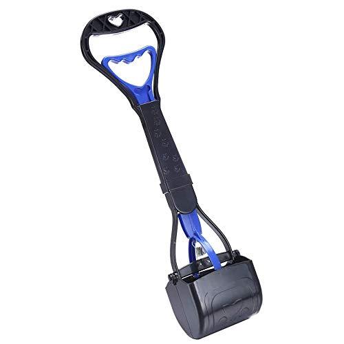 HEAPETBON 45cm Hund Jaw Pooper Scooper Tragbare Hundekotschaufel Aufnahmewerkzeug für Tierabfälle mit...