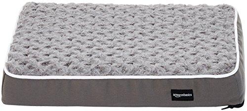 AmazonBasics - Ergonomisches Schaumstoff-Haustierbett - 38 x 51 cm