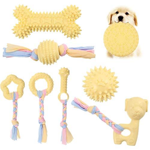 Veraing Puppy Chew Toys Kauspielzeug für Hunde Welpenspielzeug Spielzeugset zum Zahnen von Hunden mit...