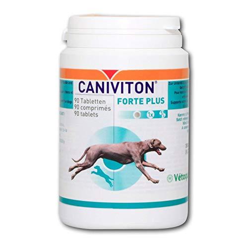 90 Tabletten Vetoquinol CANIVITON FORTE PLUS - Ergänzungsfuttermittel für Hunde zur Unterstützung der...