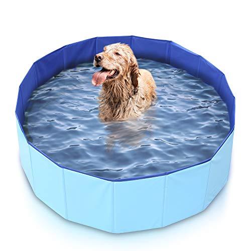 Mirtillo & Memole Hundepool, Kleiner Pool, großer XL-Pool, Pool für große Hunde, Klapppool, extra...