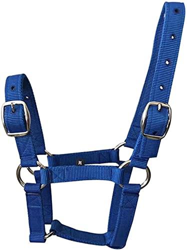 NKTJFUR Reithalfter für Pferde, verstellbar, für 1 bis 1,65 m Reithalfter, Halfter für Pferde von 1...