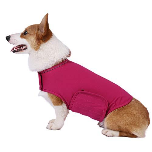 YUKOOL Angstmantel für Hunde, leichte Wickelweste, Hunde-Angstjacke, zur sofortigen Therapie für...