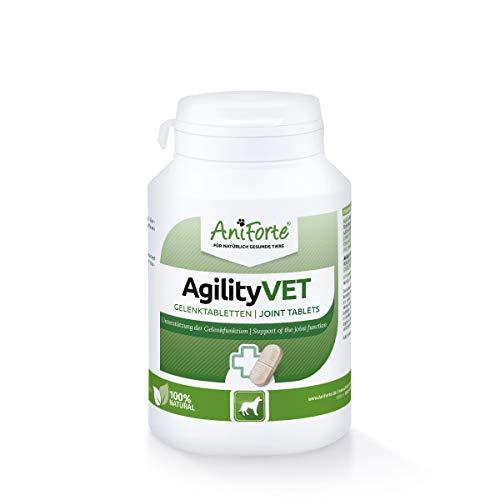 AniForte Gelenktabletten Hund AgilityVet 120 Stück - Natürlich & getreidefrei | fördert Mobilität &...