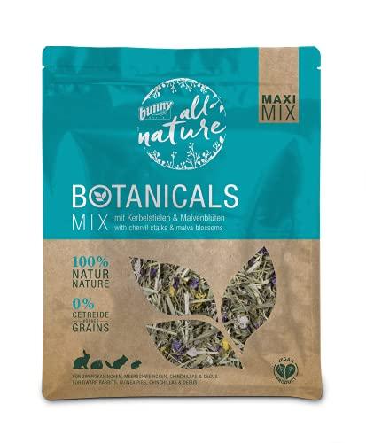 Bunny Nature BOTANICALS Maxi Mix Mix mit Kerbelstielen & Malvenblüten, 0.4 kg