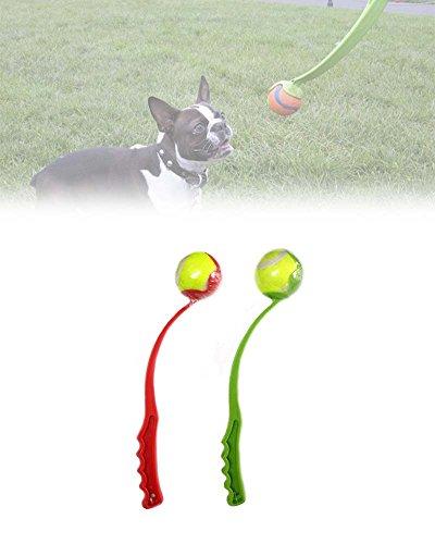 Hunde Ballwerfer Hundespielzeug Ballschleuder Tennisballschleuder Werfer Apportierspielzeug inkl....