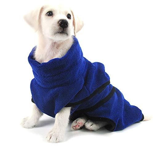 PET SPPTIES Mikrofaser Hundebademantel Handtuch Soft Pet Badetuch Schnelles Trocknen Hund Katze...