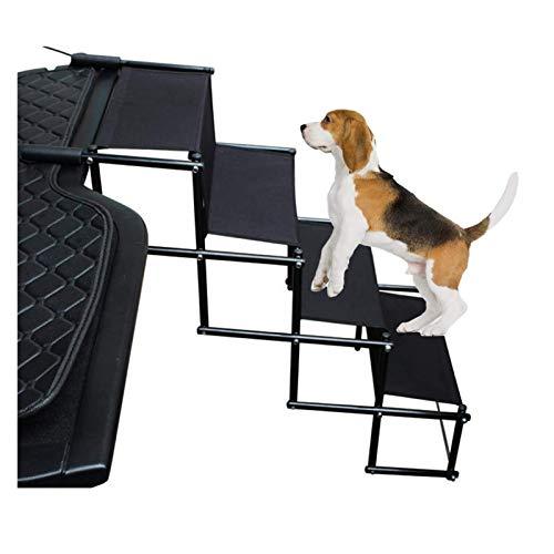 MYXE Haustreppen Auto Multifunktionale Hundestufen Leichte Hunde Treppen Einstellbare Hunderampe Für den...