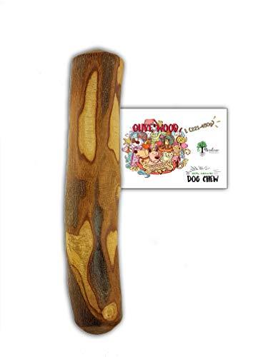 Bio Mordiscos Hundespielzeug kauspielzeug aus Olivenbaumholz für Hunde – 100% natürlich (L 221-450g)