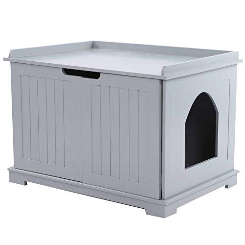 Wakects Katzentoilette für Katzen, Haus für Katzen, Haus für Katzen, leicht zu reinigen,...