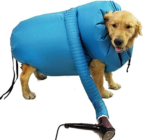 N\A Pet Drying Coat, Puff and Fluff Hundetrockner, Protable Fast Easy Blower Professionelles Werkzeug...