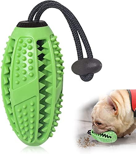 Hundezahnbürste ,Hundespielzeug Kauspielzeug,Ball Leckerli-Spender für Hunde Welpen-Zahnpflege,...