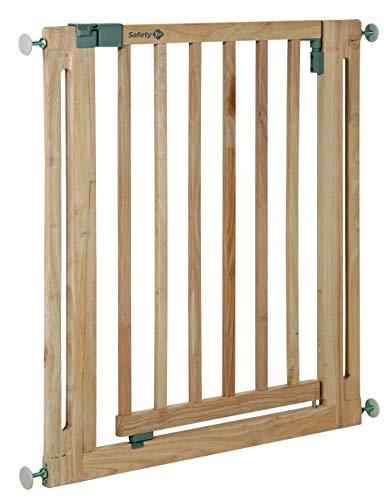 Safety 1st Easy Close Wood Treppenschutzgitter, mit Schwung schließbar, Türschutzgitter zum Klemmen...