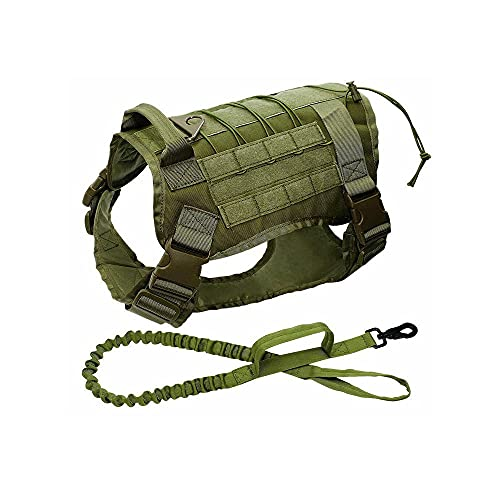 Training Taktische Hundebekleidung Hundeseil Taktische Hundeweste Großer Hund Tactical Training...