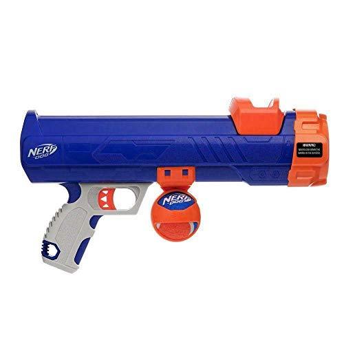 Nerf Dog Tennis Ball Blaster Spielzeug, blau/orange