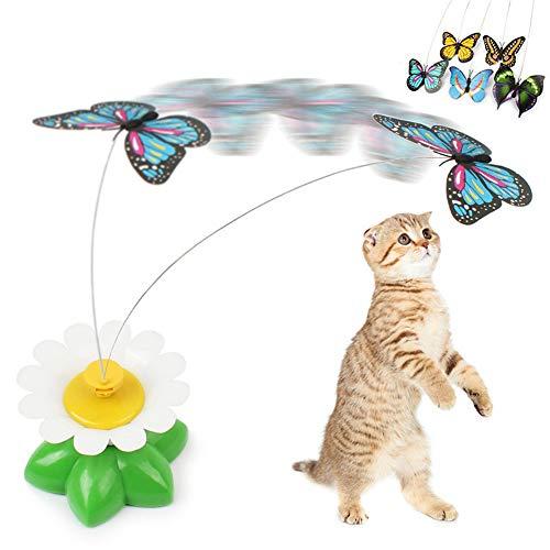 Haustier Spielzeug Katzen Spielsachen Kätzchen-Spielwaren für Innenkatzen Interaktives Katzenspielzeug...