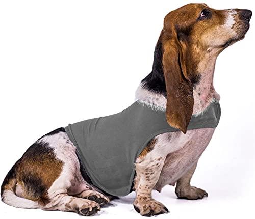 XHZDWJ Hundemantel zur Linderung von Angstzuständen und Angstzuständen, leicht, weich, für ängstliche...