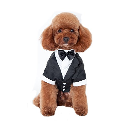 Keysui Pet Party formellen Anzug Kostüm Hund Kleidung Mantel Apparel S