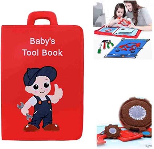 Toy Lyl weiches Tuch Buch Zeichenbrett Wasserdicht Reißfest Erleuchtung Baby Entwicklung Schnellbuch...